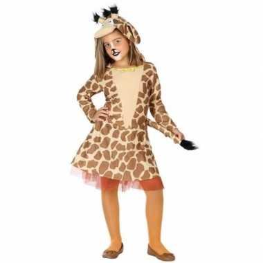 Carnavalsverkleedjurkje giraffe verkleedjurkje
