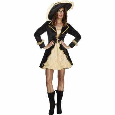 Carnavalsverkleedjurkje piraten dame