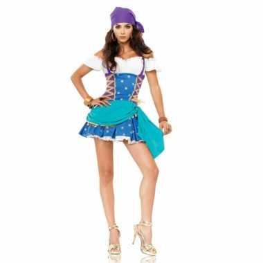 Carnavalsverkleedjurkje zigeunerin