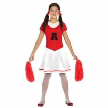 Cheerleader jurk/verkleedjurkje verkleed verkleedjurkje voor meisjes