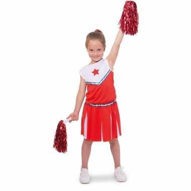 Cheerleader pakje verkleed verkleedjurkje voor meisjes