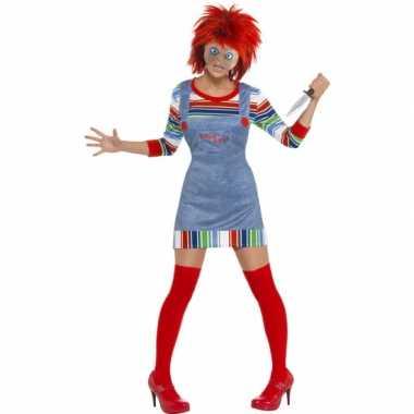 Chucky verkleed verkleedjurkje dames