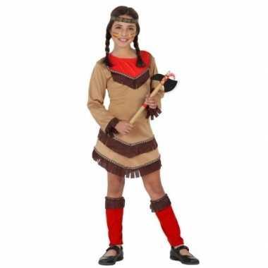 Geschiedenis indianenmeisje verkleedjurkje chinouk