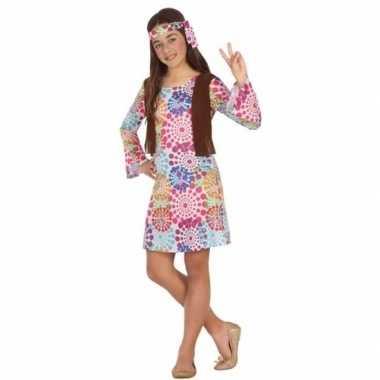 Geschiedenis verkleedjurkje hippie voor kinderen