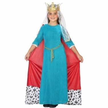 Geschiedenis verkleedjurkje koningin voor kinderen