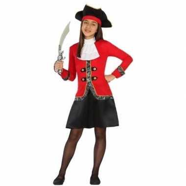Geschiedenis verkleedjurkje piraat jurk dolores voor meisjes