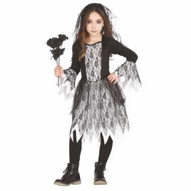 Halloween bruid verkleedjurkje voor meisjes