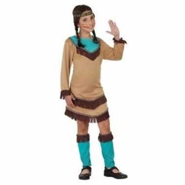 Indianen meisje verkleedjurkje chinouk