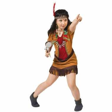 Indianen verkleedjurkje eagle voor meiden