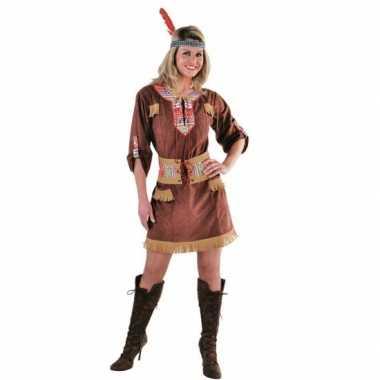 Indianen verkleedverkleedjurkje voor dames