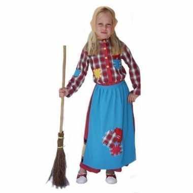 Kinder carnavalsverkleedjurkje heks