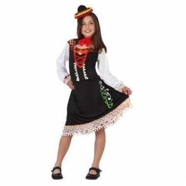 Mexicaans verkleedverkleedjurkje mariachi meisje
