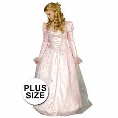Plus size prinsessen verkleedjurkje