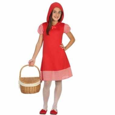 Roodkapje verkleedverkleedjurkje voor meisjes