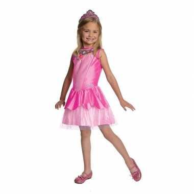 Roze prinsesen verkleedjurkje voor meisjes