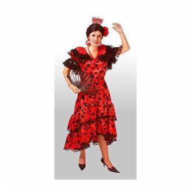 Spaanse salsa verkleedverkleedjurkje voor dames
