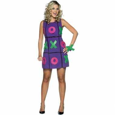 Verkleedjurkje tic tac toe jurk