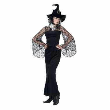 Zwarte heks verkleedjurkje